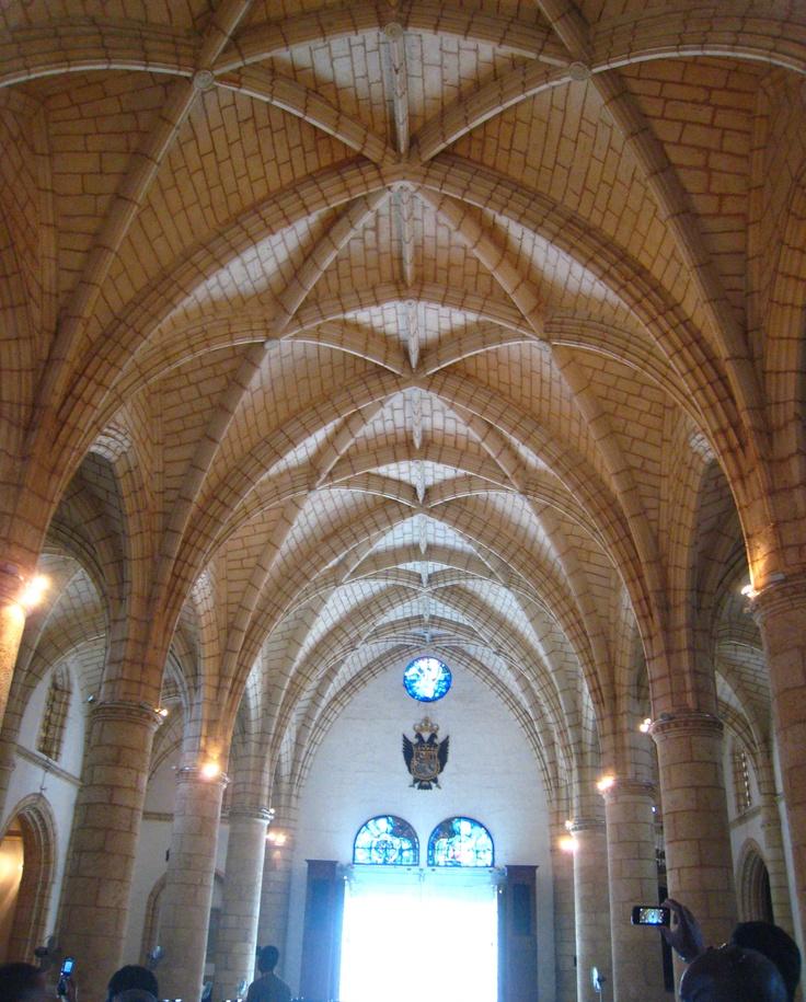 Church ceiling in Dominican Republic