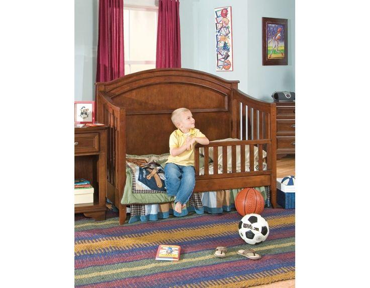 Lea Industries Deer Run Convertible Crib As A Toddler Bed