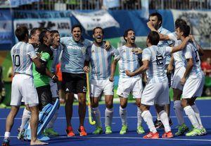 Argentin´s Mens Field hockey team olympics 2016 | Argentina vann herrarnas landhockey guld, Silver Belgien (4-2), brons Tyskland. Tyskland vann med 4-3 efter straffar mot Nederländerna.