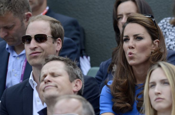 The Funniest Royal Pictures Of 2012: Prince William, Duke of Cambridge and Catherine, Duchess of Cambridge