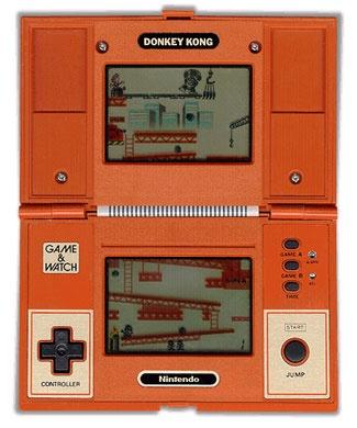 Nintendo Game & Watch - Donkey Kong ma petite sœur avait le même, je le lui piquait en cachette!