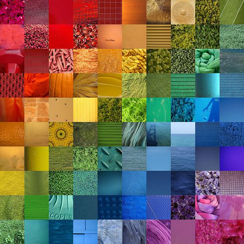 Rainbow Photo Collage: Photo Collage, Squares, Rainbows Color, Google Search, Color Wheels, Rainbows Art, Insects, Photo Quilts, Rainbows Quilts