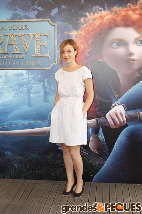 Lourdes Hernández, más conocida como Russian Red.  http://grandesypeques.com/index.php/actualidad-y-noticias/231-presentacion-de-brave-en-madrid  #Grandesypeques #Brave