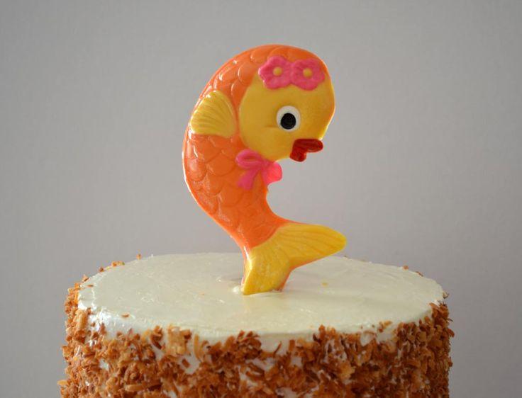 Dancing Goldfish Cake