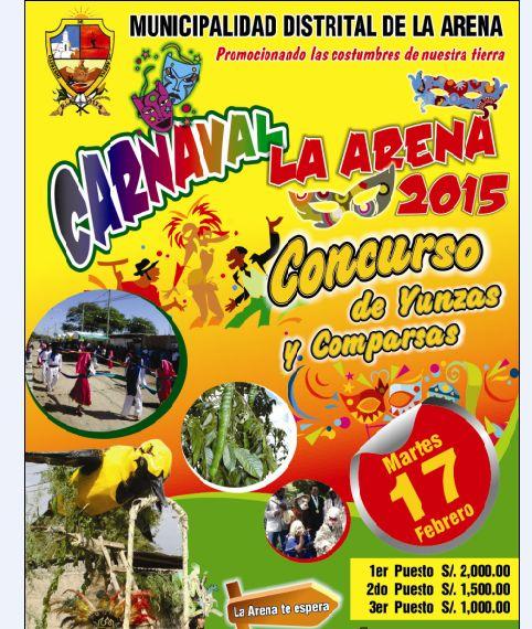Carnaval de La Arena 2015