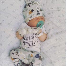 Coming home outfit/avontuur wacht outfit/baby jongen/neem thuis outfit/pasgeboren outfit/biologische katoenen legging