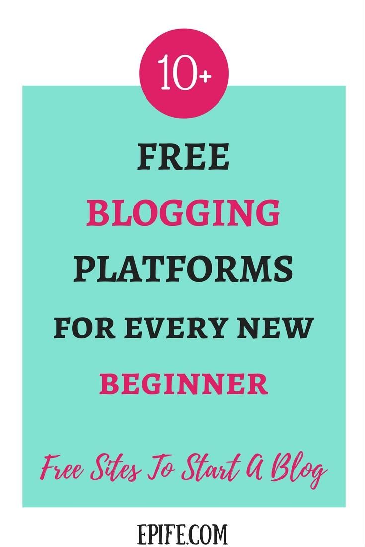 Whether you are an aspiring blogger, or a student or even a business person, an online space is must to survive. Not 1 or 2, there are more than 10 plus best FREE blogging platforms to start your blogging career right now. Click to read or pin it for later.
