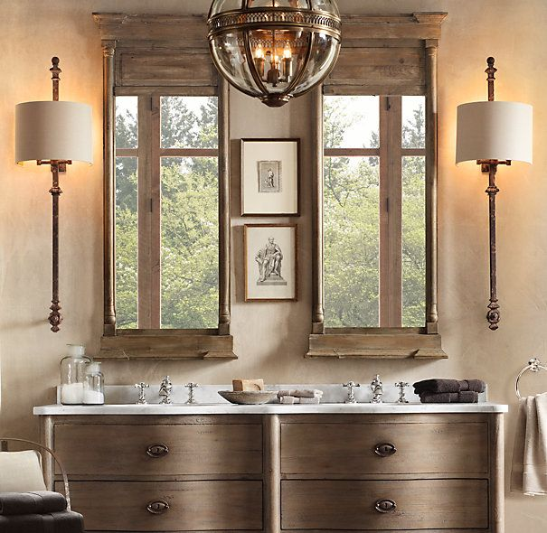 25 best ideas about restoration hardware bathroom on pinterest restoration hardware Restoration bathroom lighting