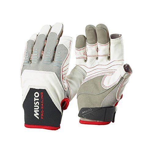 Musto Evolution Sailing Gloves - White