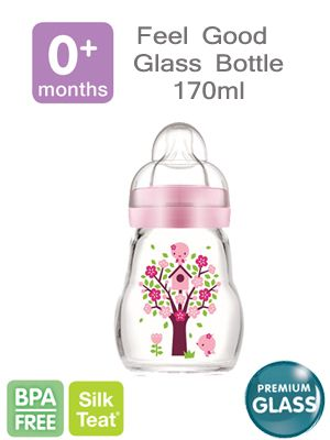 MAm feel good glass bottle 170ml