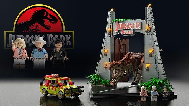 LEGO Ideas - Jurassic Park