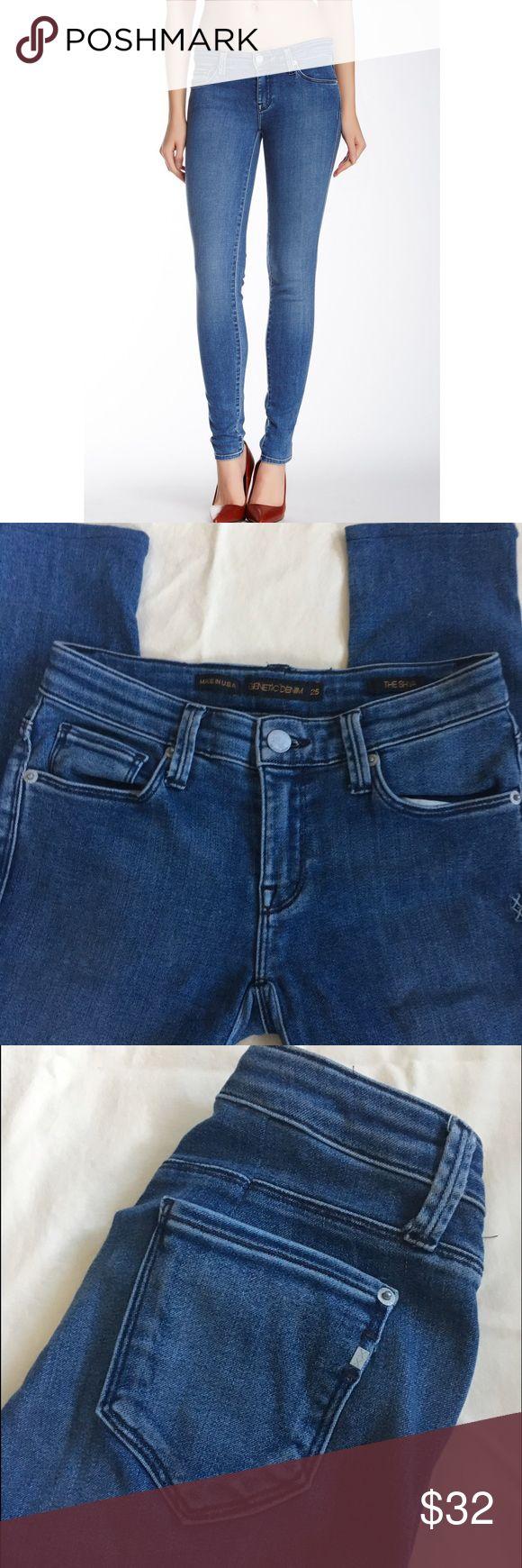 Genetic denim skinny jeans Genetic denim, Tokyo wash in The Shya Cigarette style. Size 25, inseam approx. 28.5. Great condition!!!(4) Genetic Denim Jeans Skinny