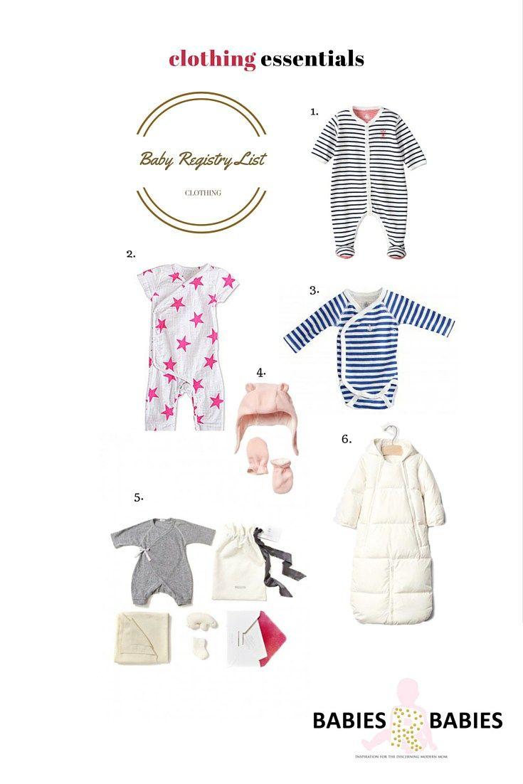 baby supplies list