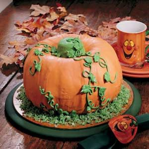 Thanksgiving Cake ~ This cake is certain to conjure up a host of smiles for your event!  Serves 12 to 16.