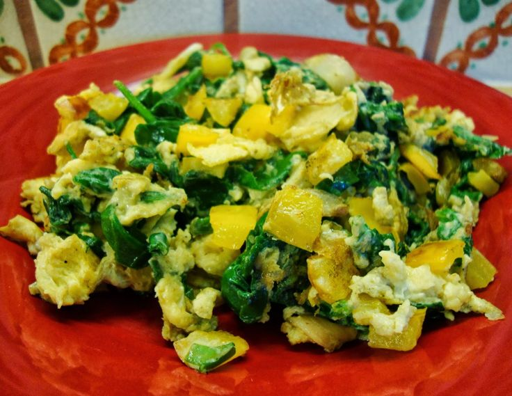 In Mo's Kitchen: Green Egg Scramble