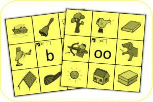 Knijpkaart - Auditief - Letters - Kern 2