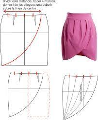 falda tulipan (tulip skirt)                                                                                                                                                                                 Más