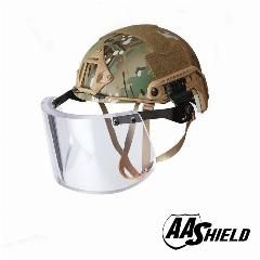 [ $56 OFF ] Aa Shield Ballistic Ach High Cut Tactical Safety Helmet Bulletproof Glass Mask Body Armor Aramid Core Nij Iiia 3A Kit Mc