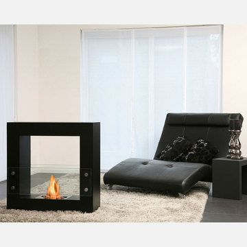 """Qube Fireplace Black 31.5""""  by Vincent Anzia    < Return to Bio-Blaze  1  0        $1,289fab        $2,343.80 retail price      Quantity      Add to Cart    An elegant design conceived to make your home all the more inviting, the Qube Fireplace from Bio-Blaze is a bio ethanol fireplace specifically designed for indoor and outdoor decoration. Featuring one bio ethanol fueled burner placed between two panes of heat resistant glass attached to square steel frame, this fireplace requires no…"""