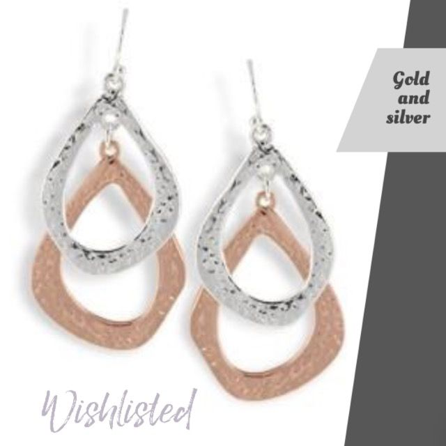wishlisted_app Can't decide between #gold and #silver? Why not both! Just part of the gorgeous range @Vanessa.Ruben #ValentinesDayGiftIdeas #yesplease #earrings #love #giftsforher #giftideas #bemyvalentine #wishlisted