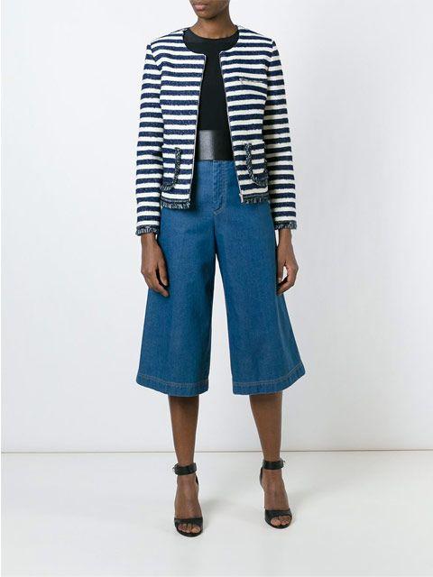 Sonia By Sonia Rykiel : Sonia Striped Boucle Jacket