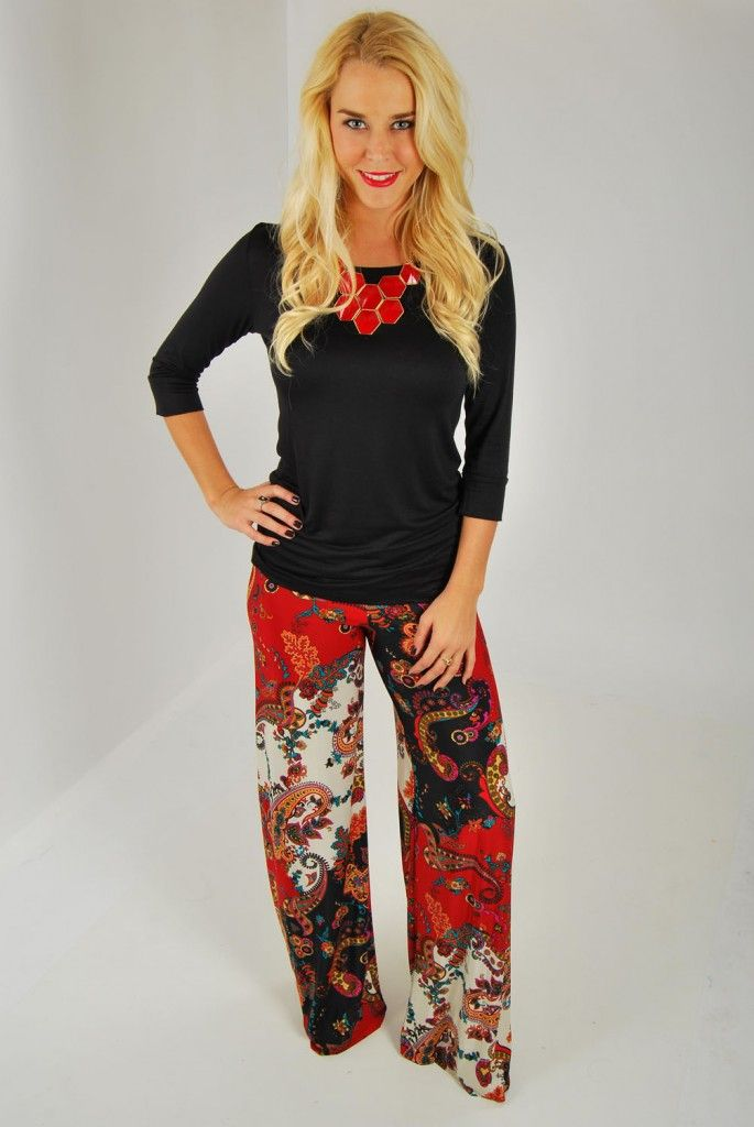 Seriously girls…how awesome are these palazzo pants!? Paisley print in perfect fall colors. Fold over waist band. Made of 100% polyester. 34″ with an unfishined hem. Cut this length down to size. Marissa is 5,5″ tall and wearing 3″ wedges. She is a size 2 and is wearing a small. These pants fit true to […]