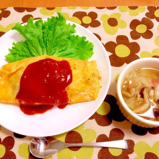 ★今日の夜ご飯★ オムライス・野菜スープ - 21件のもぐもぐ - 8/27今日の夜ご飯 by skimi218