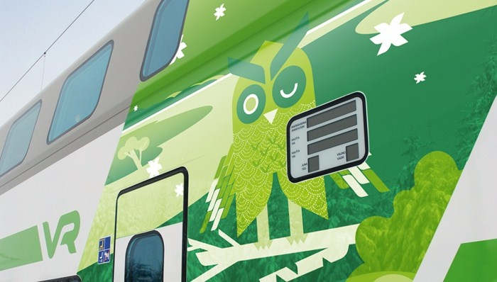 Menisin junalla Helsinkiin, koska se kuluttaa vähiten kulkuneuvoista