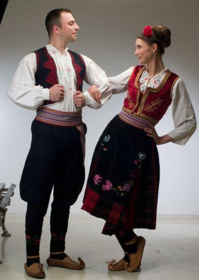 Šumadija Serbia traditional costume