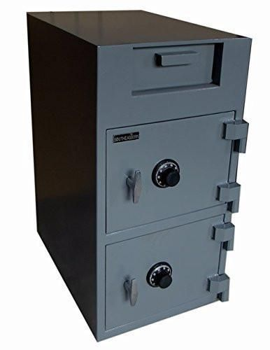 SOUTHEASTERN Double door drop safe with UL listed mechanical lock