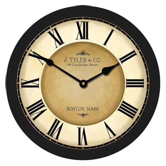 Galway Black Wall Clock Red Wall Clock Red Clock Black Clocks