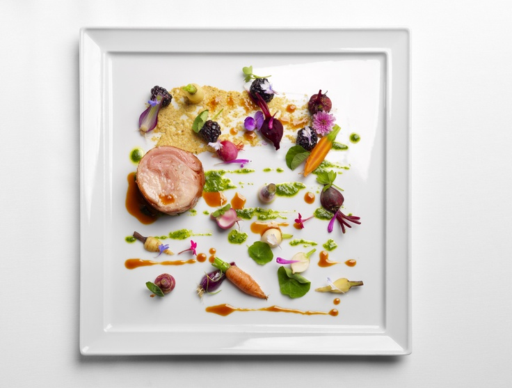 Deconstructed Rabbit Confit - Chef's Table Culinary Art