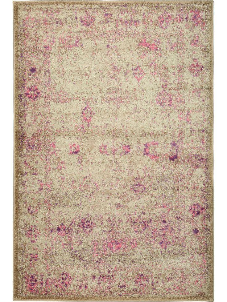 Das Vintage-Design des benuta Teppichs Antique Pink zaubert eine gemütliche Atmosphäre in jedem Raum und lässt sich hervorragend zu moderner Einrichtung kombinieren