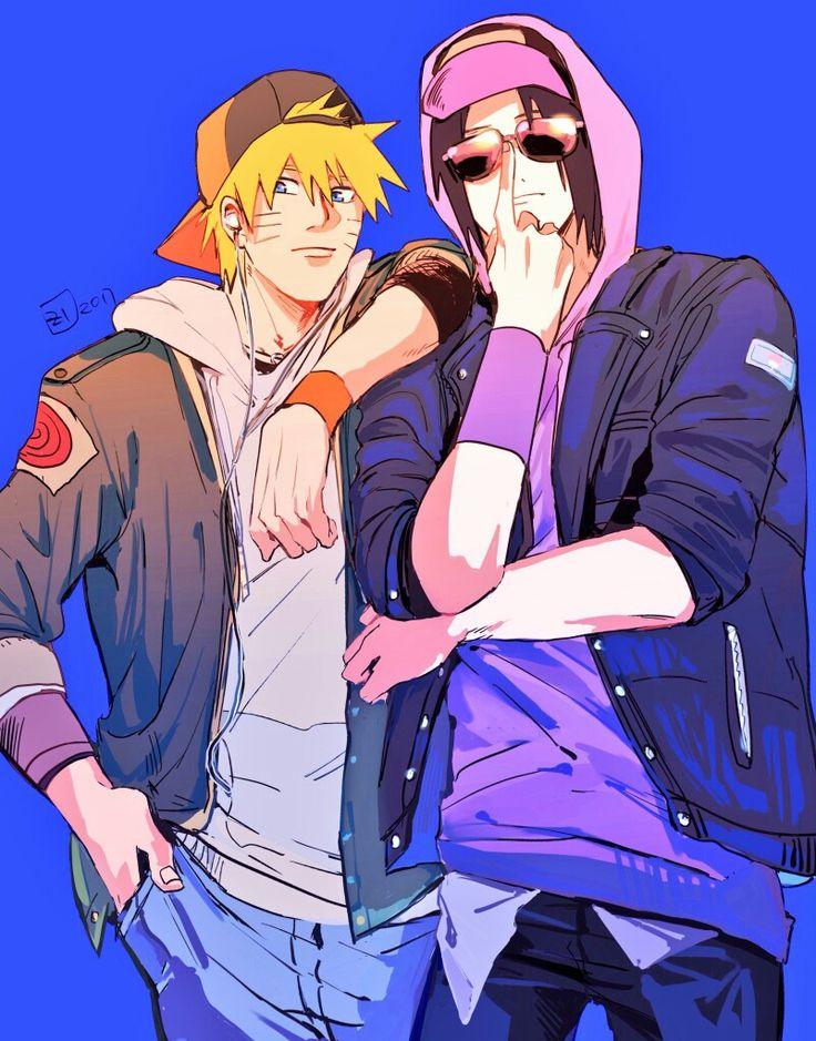 Naruto And Sasuke / SasuNaru / #anime