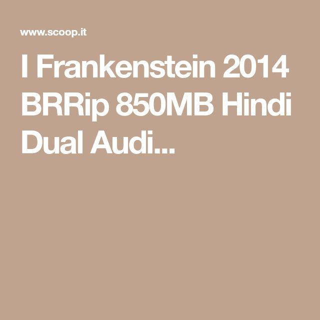 I Frankenstein 2014 BRRip 850MB Hindi Dual Audi...