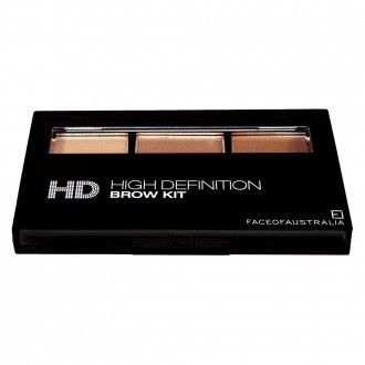 Face Of Australia HD High Definition Brow Kit  With two powders and a gel, this kit is all you need in your makeup bag to achieve perfect brows.  I included this in my makeup starter kit Youtube video which you can check out here: http://www.ailsa-jane.com/single-post/2017/01/26/Make-up-Starter-Kit---Part-1  #affiliatelink