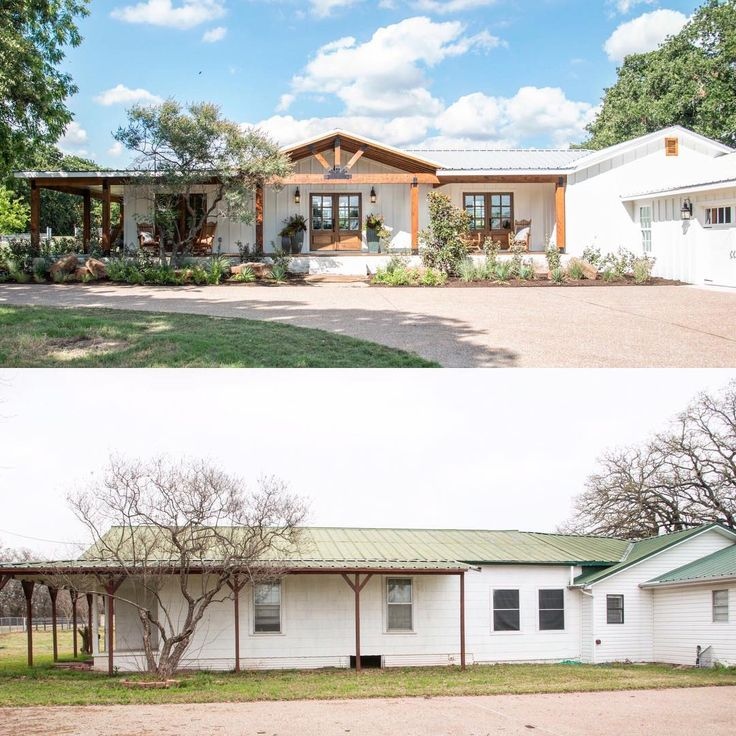Before and after of this week's #fixerupper @hgtv