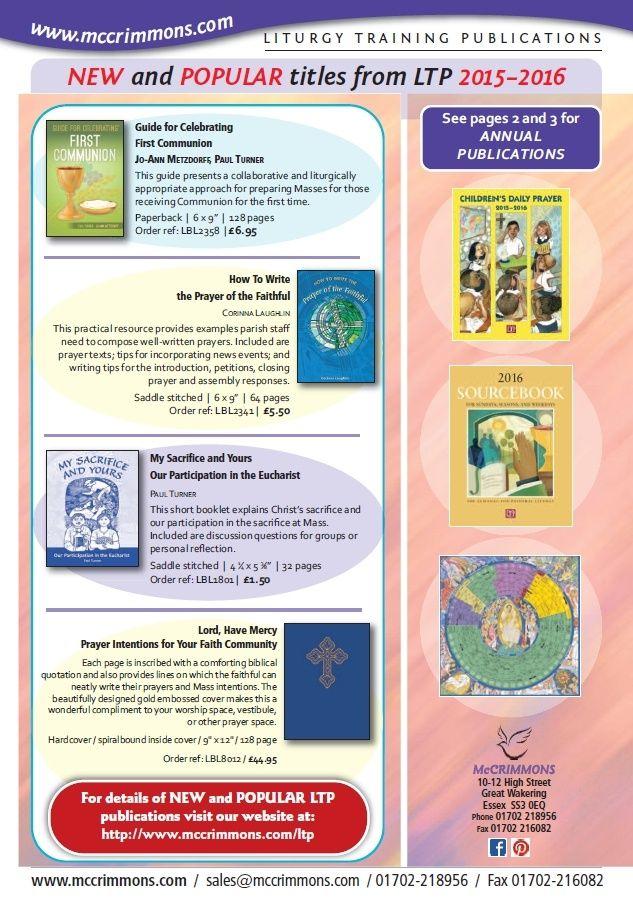 25 best Annual Catholic Liturgical ResourcesPrayer BooksDiaries - religious brochure