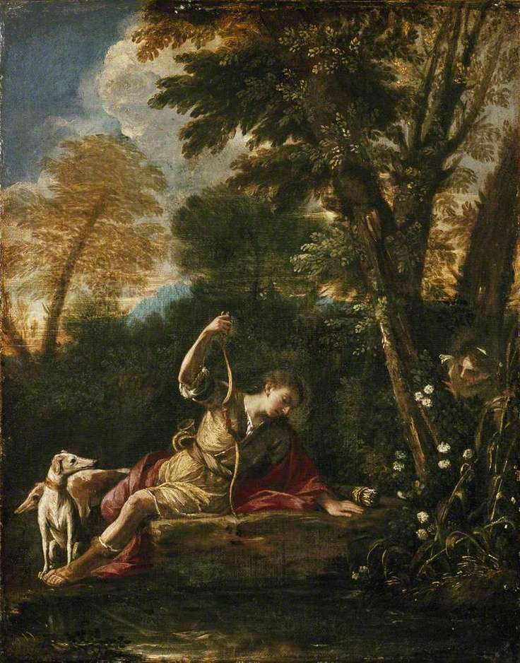 best narcissus echo images painted canvas  echo and narcissus pier sco mola c 1633 41