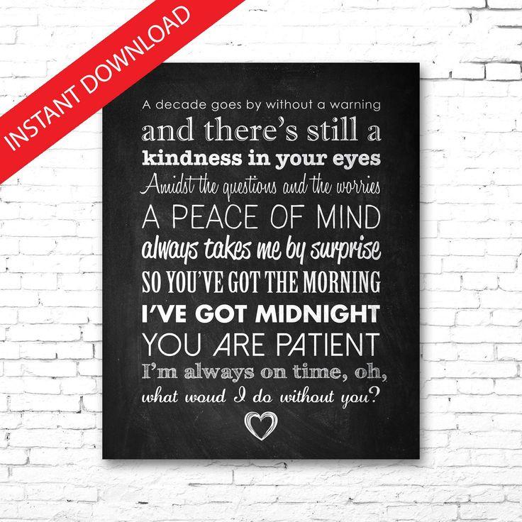 "DREW HOLCOMB ""What Would I Do Without You"" Song | PRINTABLE Lyrics Artwork | Chalkboard | Lyrics ..."