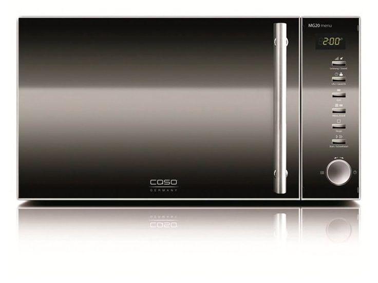 Caso MG20 Menu Edelstahl im Test:   👉DEAL👈 👉#DEAL👈 👉DEAL👈  Designer-Mikrowelle für nur 89 Euro im Angebot🙌