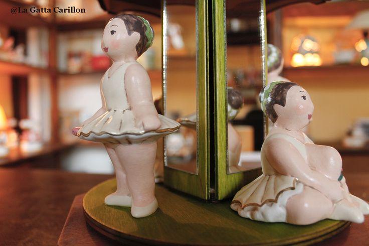 Carillon giostra ballerine - ballerina carousel music box