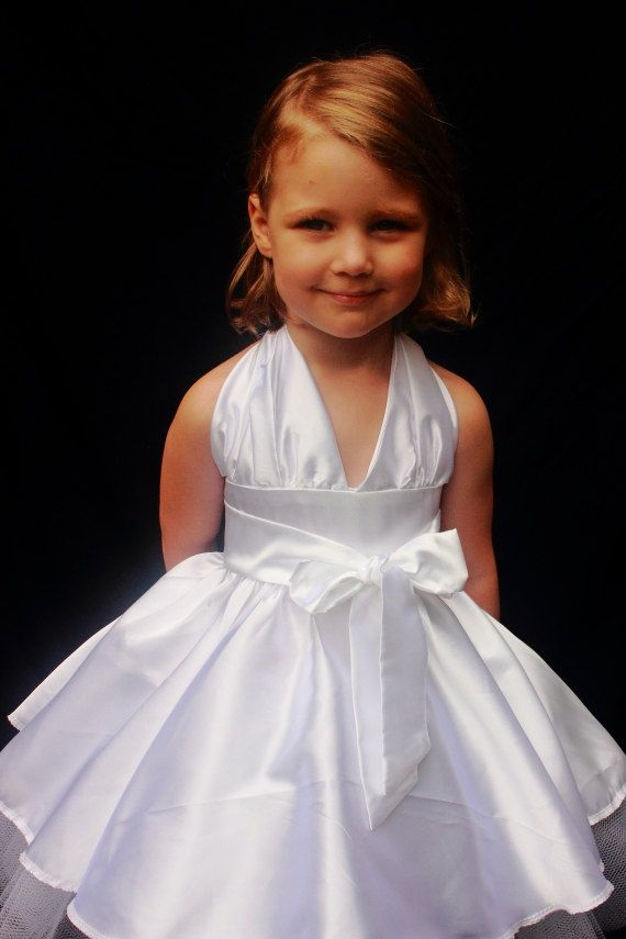 Toddler Marilyn Monroe White Dress | Toddlers, Dresses and ...