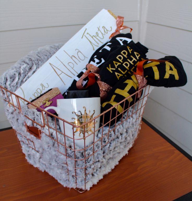 Big Little Gift Basket Kappa Alpha Theta
