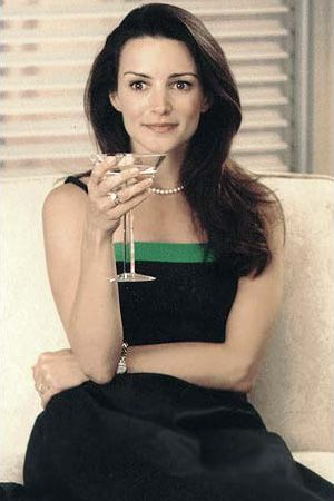 Do everything with pearls and a smile.  And the odd martini helps, too.