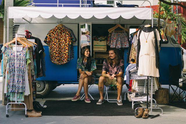 Um ano sem lixo: Entrevista: O Brechó Online e Itinerante do Garimp...