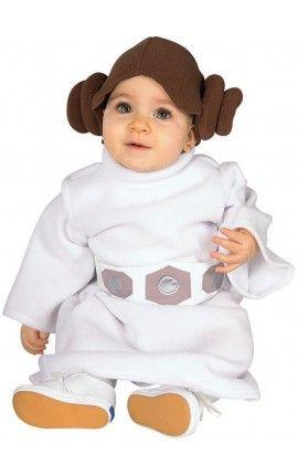 disfraz de princesa leia para beb