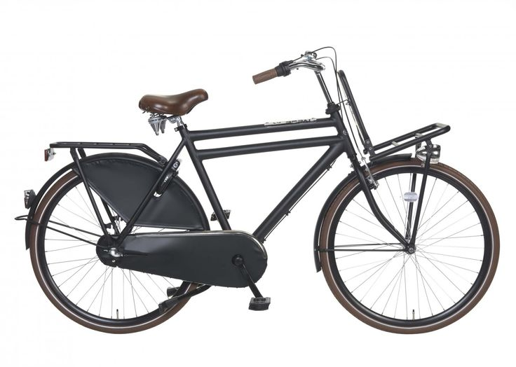 Bicicleta Daily Dutch Royal negra. bicicleta holandesa