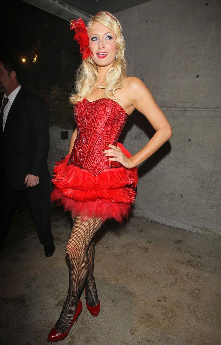 Paris Hilton Wearing A Saloon Girl Costume  sc 1 st  Pinterest & 88 best Halloween costume ideas images on Pinterest | Make up looks ...