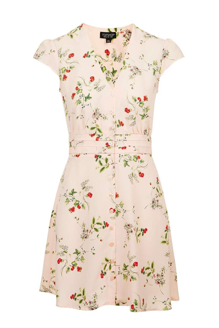 Floral Tea Dress - Dresses - Clothing - Topshop USA